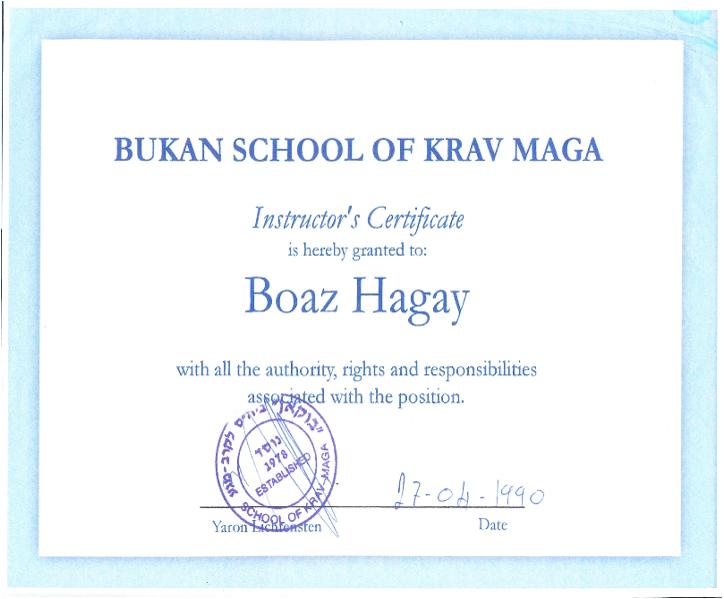Ja En Teachers Of Krav Maga